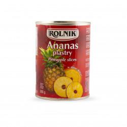 Ananas plastry w puszce,...