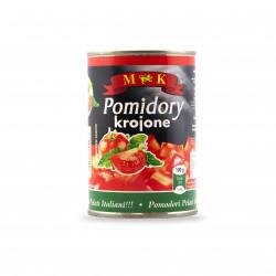 Pomidory krojone, 400g MK
