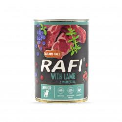 Rafi Junior, karma dla psa...