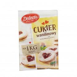 Delecta cukier wanilinowy 15g