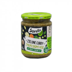 Sorella vegan zielone curry...