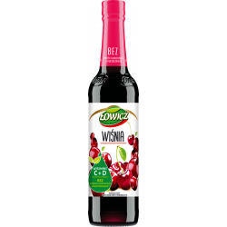 Łowicz syrop wiśniowy 400 ml