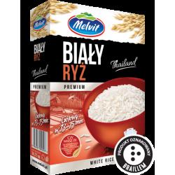Melvit ryż biały 400g (4x100g)