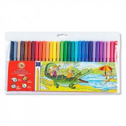 KOH-I-NOR flamastry 30 kolorów